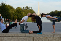 Think globally, vote yogically: Yoga and voting in the real world