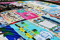 Help keep the historic AIDS Memorial Quilt going
