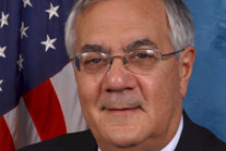 A little salty, a little sweet, but true to his name, always candid: Congressman Barney Frank