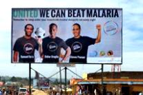 Africa kicks malaria: How football stars are outscoring malaria