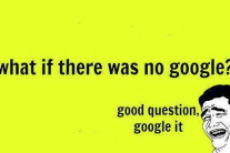 What's worse than not having Google?