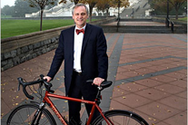 Rep. Earl Blumenauer talks to ONE about clean water, bow-ties and bikes