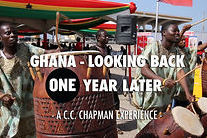 C.C. Chapman looks back on Ghana vaccine launch, ONE year later