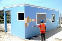 Rebuilding Haiti one concrete block at a time