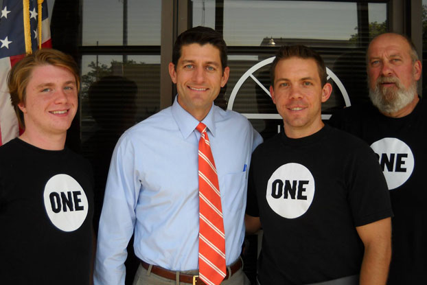 Top Wisconsin ONE vols talk energy poverty with Paul Ryan