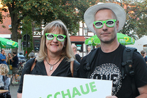 All eyes on Germany as voters go to the polls – and ONE's eyes are the craziest!