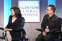 Watch Live: Bono, Mo Ibrahim and Sheryl Sandberg at the Clinton Global Initiative