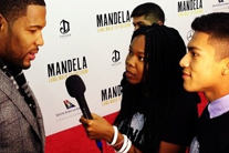 VIDEO: ONE hits the red carpet for NYC premiere of Mandela film