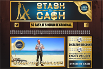 Stash-the-cash.com shows how easy – and legal – it is to launder money!