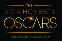 Honesty Oscars 2014: Best Activist in a Leading Role