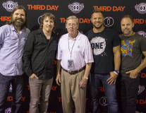 Third Day and fans share the #NewGoodNews at Atlanta show