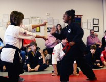 Courage and confidence found in karate