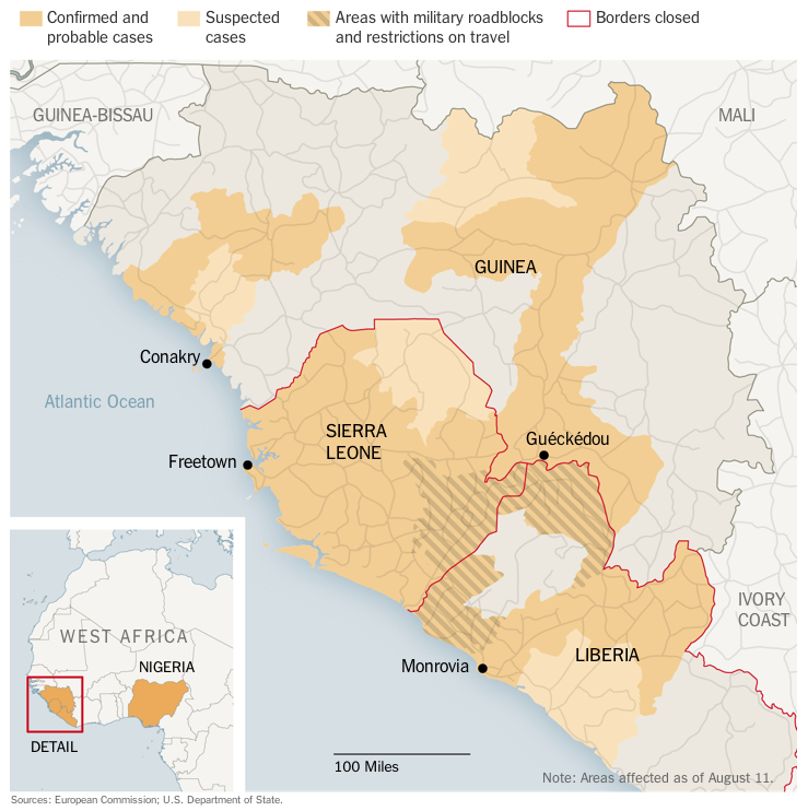 The Ebola outbreak in six videos