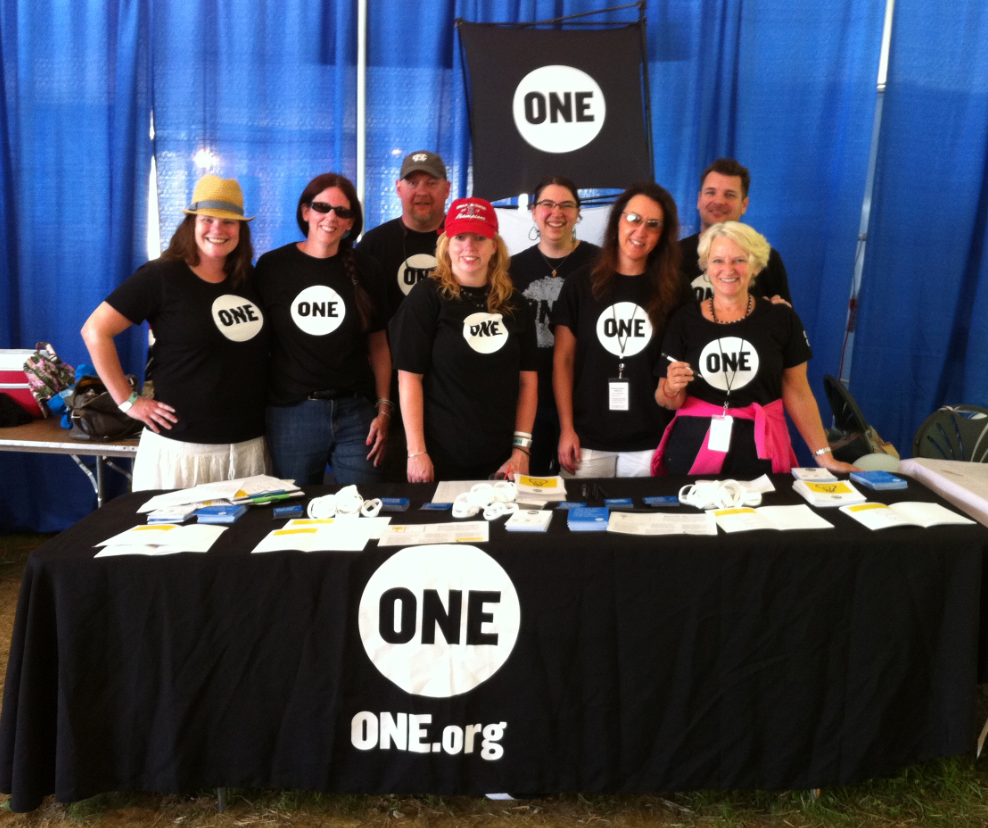 ONE makes noise for Energize Africa at SoulFest