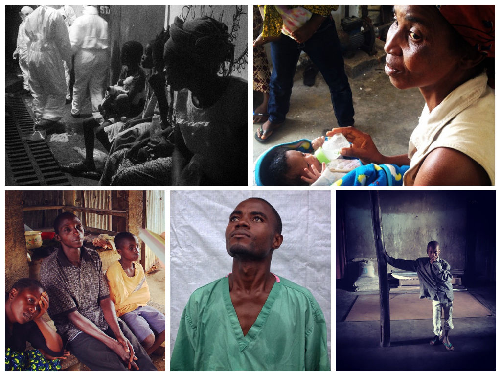 PHOTOS: An intimate side of the Ebola crisis, taken via Instagram