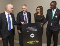 ONE and Actor Idris Elba deliver Ebola petition to the UN Meetings