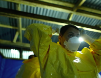 VIDEO: Meet Audrey, a volunteer nurse fighting Ebola in Liberia