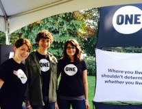 Washington volunteers talk ONE at local AIDS walks