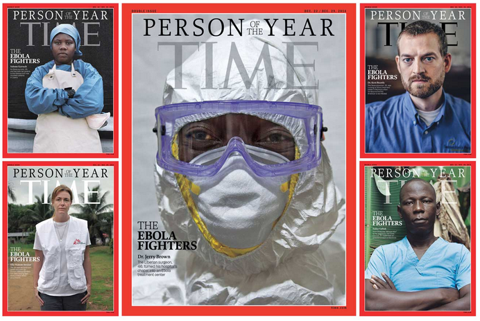 The Ebola Fighters: Why TIME's 2014 Person of the Year reminds us to do good, be brave