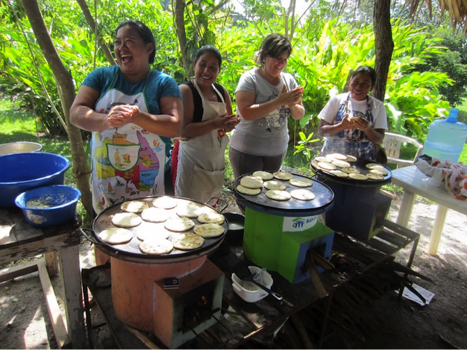 For millions of women around the world, cooking is anything but safe