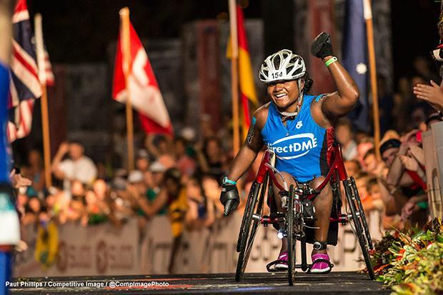 Polio survivor and athlete Minda Dentler's inspiring story
