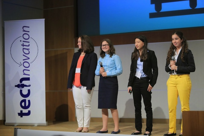 These brilliant girls are solving real-world problems with technology