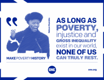 10 powerful quotes from Mandela's Make Poverty History speech
