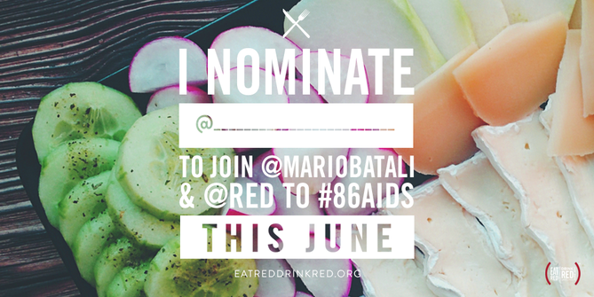 Nominate your favorite restaurant to EAT (RED) DRINK (RED) SAVE LIVES this June