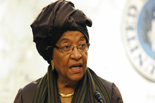 Ellen Johnson-Sirleaf 600 x 400