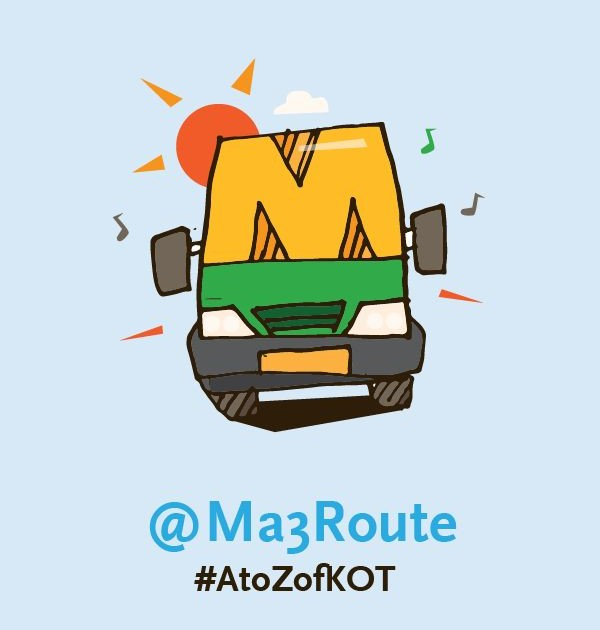 M is for @Ma3Route