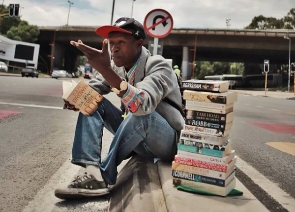 Meet the homeless man who turned his life around by offering book reviews instead of begging