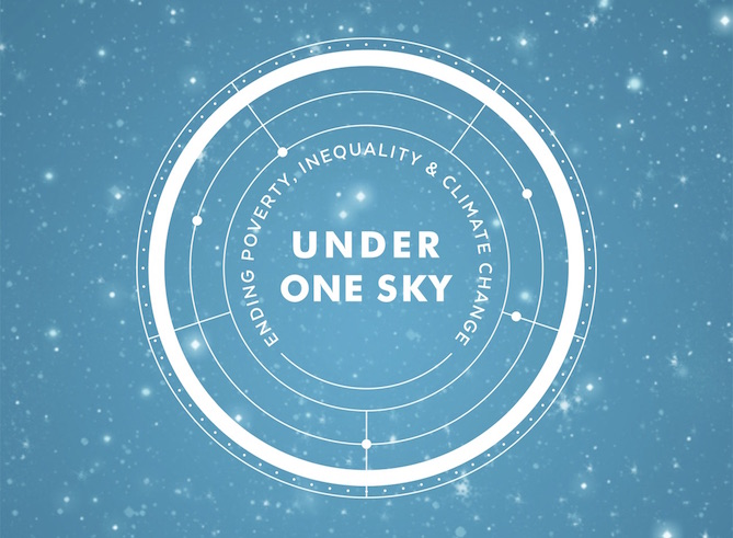 Under One Sky, we can share our goals with the world