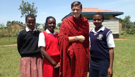 Our students enjoyed sharing Maasai culture with the design team.