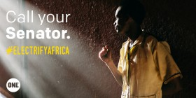 Tell your senator to vote YES for the Electrify Africa Act