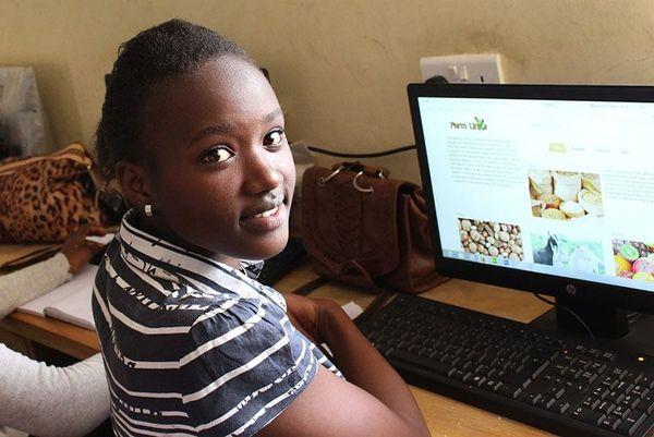 Miriam Photo credit: Nairobits Trust/Facebook