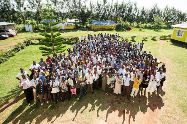 The staff of Nuru Kenya. (Photo credit: Nuru International)