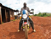 How motorcycles are reducing maternal deaths in Kenya