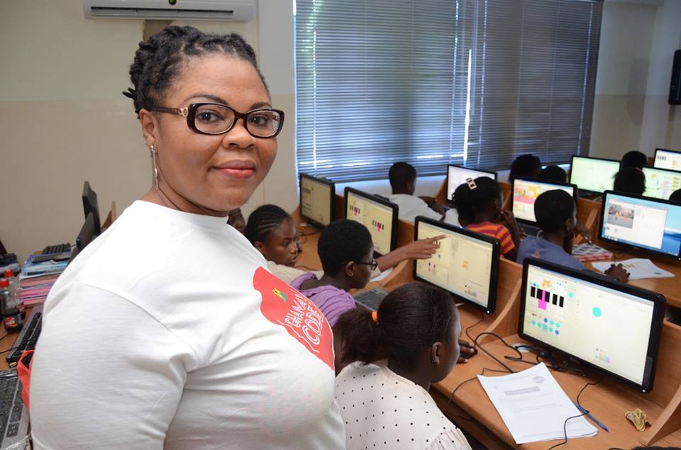 One Meet The Woman Teaching Ghana S Kids To Code One