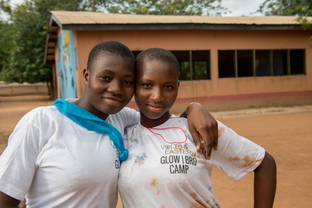 "Girls Leading Our World: ""If a girl furthers her education, she can become a leader…"""