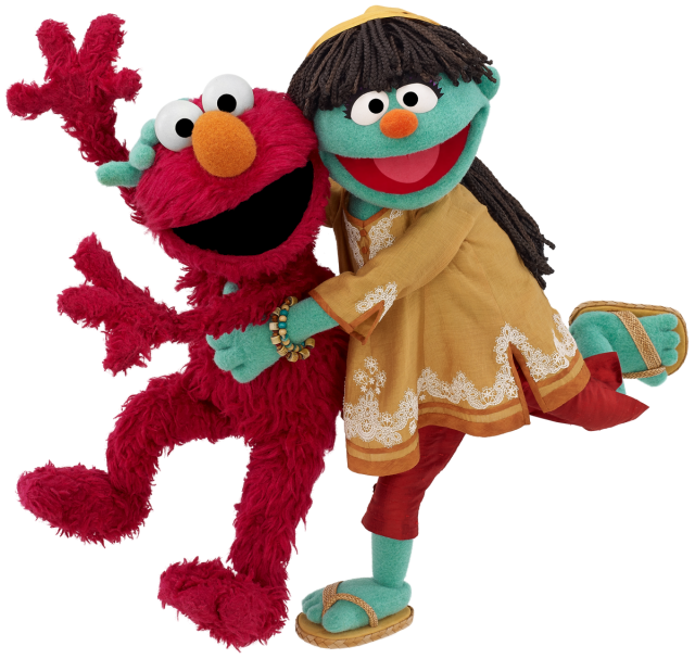 Spending World Water Day with 'Sesame Street's' Raya