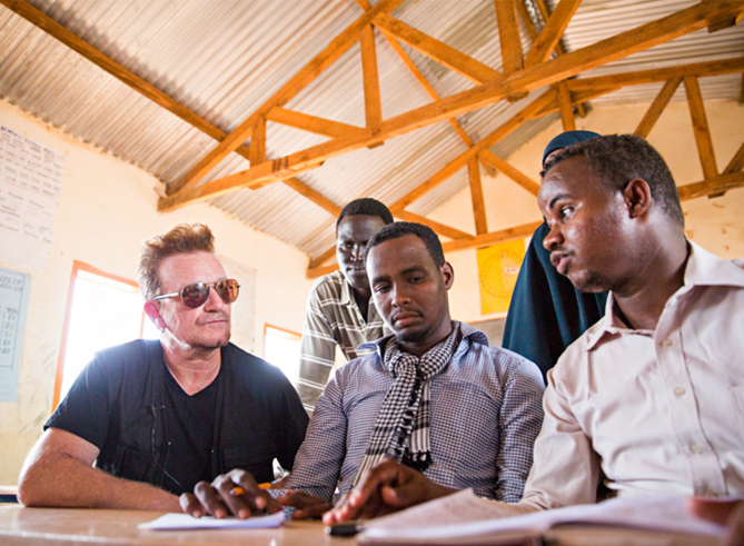 "Bono testifies to Congress: ""Aid in 2016 is not charity—it is national security"""