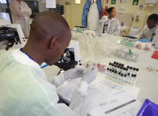 Strong labs save lives in the fight against HIV and TB in Africa