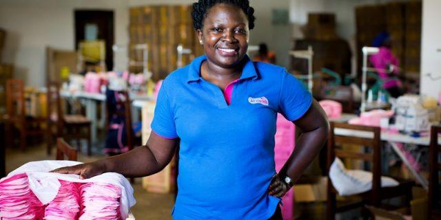 Irene's story: How AFRIpads is helping girls and women in Uganda