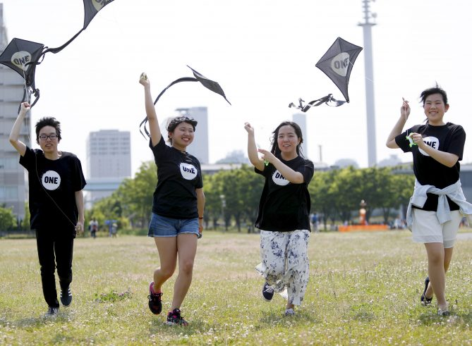 Why these ONE members are flying kites around the world