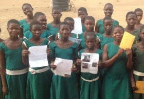 What do Girl Scouts in California and girls in Ghana have in common?