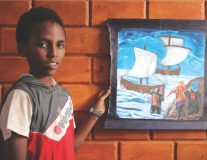 These refugees in Ethiopia are painting their stories