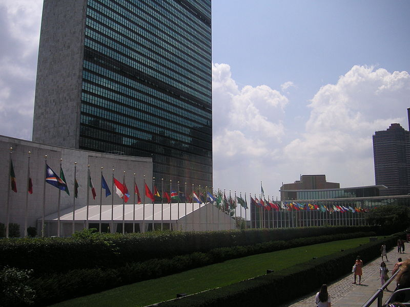 The United Nations building in New York City. (Photo credit: Ian Gratton/Wikimedia Commons)