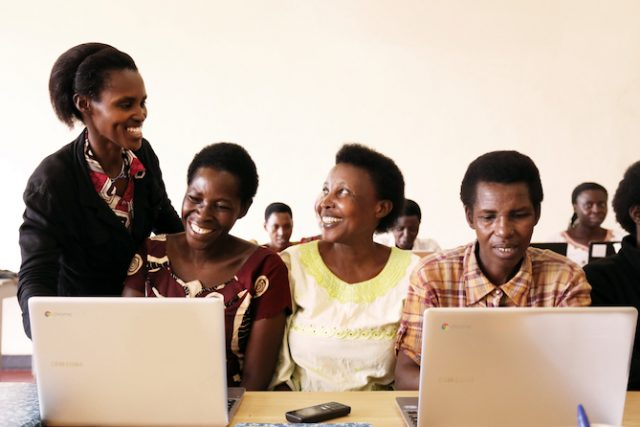 Technology training for the workplace: Empowering Rwanda's college graduates
