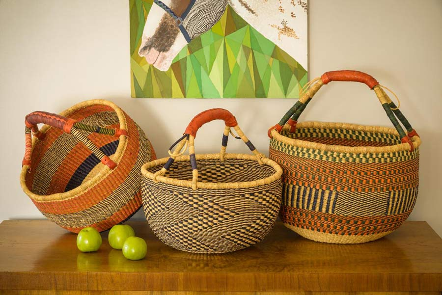 Some of the handmade crafts at Blessing Basket. (Photo credit: Blessing Basket)
