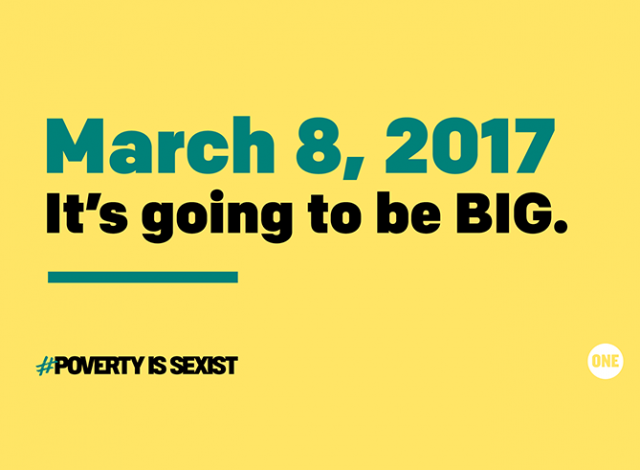Will you stand with us on March 8, 2017?